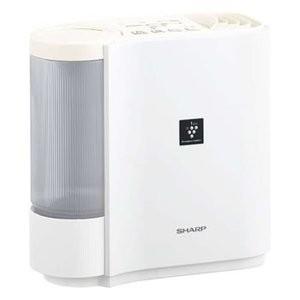 シャープ 加湿機 HV-H30-W (ホワイト系/アイボリーホワイト) プラズマクラスター 加湿器 ...