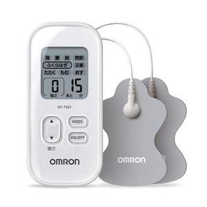 オムロン 低周波治療器 HV-F021-W [ホワイト] 新品 即納|densidonya