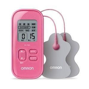 オムロン 低周波治療器 HV-F021-PK [ピンク]  新品 即納|densidonya