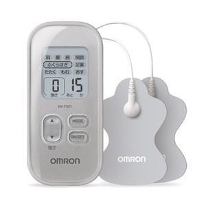 オムロン 低周波治療器 HV-F021-SL [シルバー]  【即納】|densidonya