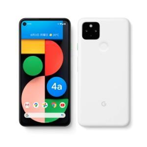 【即日発送】【新品 開封済み未使用品】Google グーグル Pixel 4a 5G ホワイト SIMフリー SIMロック解除品 白ロム  densidonya