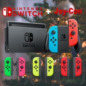 (新モデル) Nintendo Switch Joy-Con(L) ネオンブルー/(R) ネオンレッド 新型 本体  印付きの場合あり|densidonya