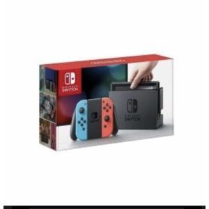 送料無料 任天堂 ニンテンドー スイッチ Nintendo Switch [ネオンブルー/ネオンレッド] 量販店印付あり 新品 |densidonya