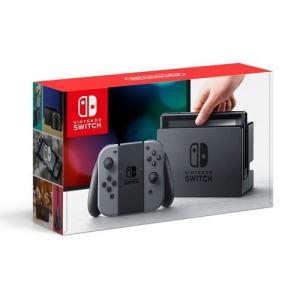 訳あり:任天堂 Nintendo Switch [グレー]    新品 即日発送|densidonya