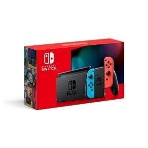 中古 任天堂 ニンテンドー スイッチ Nintendo Switch [ネオンブルー/ネオンレッド] 美品|densidonya