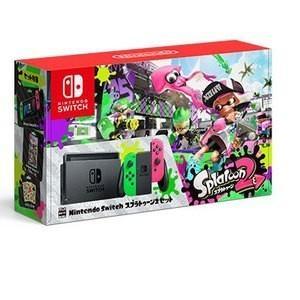 NintendoSwitch本体 スプラトゥーン2セット NintendoSwitchOnline個人プラン3か月(90日間)利用券(無償特典)付き 新品 他店印付の場合あり densidonya
