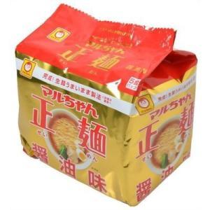 【納期目安:1週間】東洋水産 E217618H 【ケース販売】マルちゃん正麺 醤油味 5食入×6袋