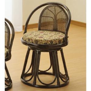 【納期目安:01/中旬入荷予定】今枝商店 S514B Romantic Rattan 回転座椅子 dentarou