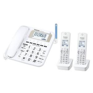 【納期目安:1ヶ月】パナソニック VE-E10DW-W VEE10DW-W コードレス電話機 (VEE10DWW)|dentarou