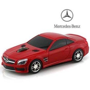 LANDMICE BENZ-SL63AMG-RE メルセデス ベンツ AMG 無線マウス 2.4G レッド (BENZSL63AMGRE)|dentarou