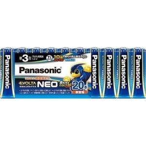 【納期目安:約10営業日】パナソニック LR6NJ/20SW 単3形乾電池 「エボルタネオ」 20本パック|dentarou