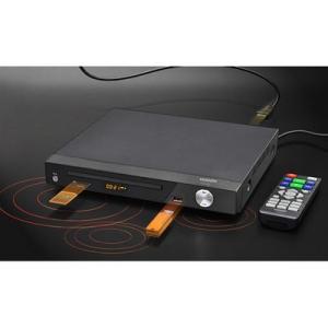 【納期目安:04/上旬入荷予定】ベルソス VS-DD202 据置DVDプレーヤー(AV/HDMIケーブルタイプ) (ブラック)|dentarou