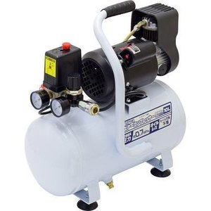 EARTH MAN TKG-1405145 静音タイプ オイルレスエアーコンプレッサー 10L ACP-10A (TKG1405145)|dentarou