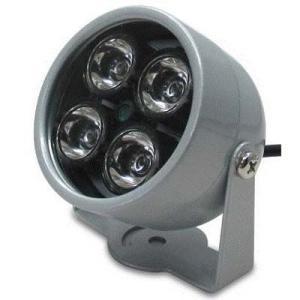 ブロードウォッチ SEC-IRLED-2B 【光量センサー自動点灯】赤外線照明 LED強力2灯 (SECIRLED2B)|dentarou