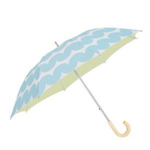 korko(コルコ) EE-02619 長傘 手開き 日傘/晴雨兼用傘 中棒伸縮傘 スティナ 全6色 8本骨 50cm UVカット 99%以上 遮光率 99%以上 木製ハンドル (EE02619)|dentarou
