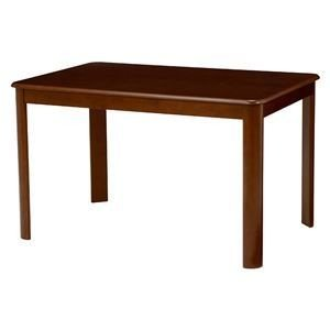 ds-1629354 ダイニングテーブル 激安 激安特価 送料無料 未使用品 長方形 ブラウン 木製 代引不可 天板:オーク突板 ds1629354 幅120cm×奥行80cm 木目調
