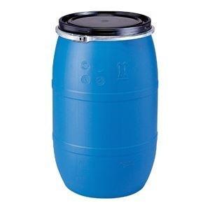 <title>ds-1647575 三甲 サンコー 液体輸送用プラスチックドラム オープンタイプ PDO 120L-1 UN認定 新色 ブルー 青 ds1647575</title>