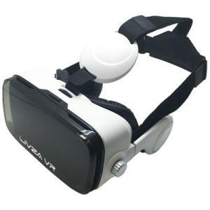 三金商事 LIV-VR01 VRゴーグル 仮想体験 ヘッドフォン一体型 LIVZA (LIVVR01)|dentarou