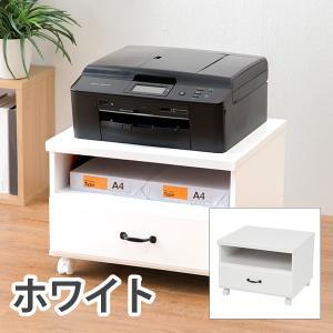 HAGIHARA(ハギハラ) 2101631400 プリンターワゴン(ホワイト) MUD-6207WH|dentarou