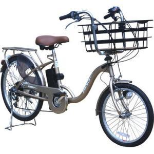 KAIHOU KH-DCY07-SGO-BB 20/24型外装6段ビックバスケット『電動アシスト自転車 SUISUI』(シャンパンゴールド) dentarou
