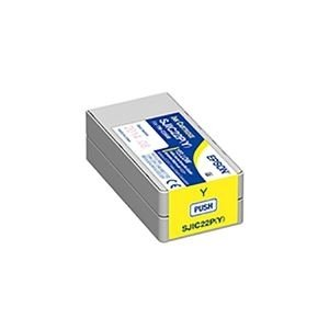 <title>ds-1911229 爆安プライス 業務用5セット 純正品 EPSON エプソン インクカートリッジ SJIC22PY イエロー ds1911229</title>