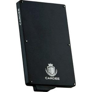 Cardee(カーディー) EE-04838 プロテクター付きカードケース ダークブラック (EE04838)|dentarou
