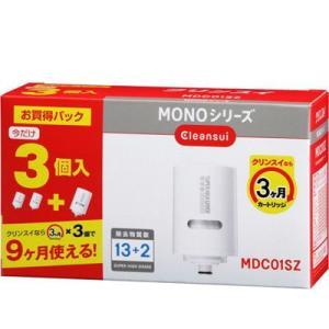 三菱ケミカル・クリンスイ MDC01SZ 【お買得パック!】除去物質数13+2 MONOシリーズ交換カートリッジ(3個入)|dentarou