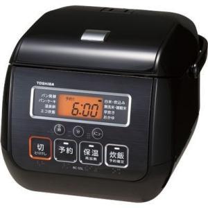 【納期目安:約10営業日】東芝 RC-5SL-K マイコンジャー炊飯器(3合炊き) ブラック (RC5SLK)|dentarou
