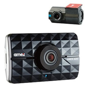 青木製作所 AMEX-A05W ドライブレコーダー(1ch+1ch) フォーマットフリー・2カメラ対応・リアカメラ付属 (AMEXA05W) dentarou