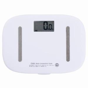 ●オーム電機 HB-K110-W 体重体組成計 ホワイト