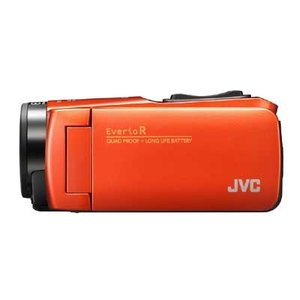 JVC GZ-RX680-D ハイビジョンメモリームービー(ブラッドオレンジ) (GZRX680D)|dentarou