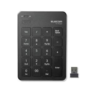 エレコム TK-TDP019BK 無線テンキーパッド/パンタグラフ/薄型/ブラック (TKTDP019BK)|dentarou