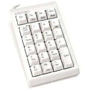 ●テンキーに特殊キーを搭載、DIPスイッチで切り替え。