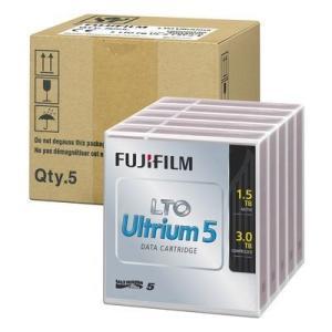 納期目安:1週間 富士フイルム FF101YF lt;LTOテープgt; LTO Ultrium 即納 圧縮時3.0T 5巻パック品 5 非圧縮時1.5TB セール特価 LTOFBUL51.5TJX5
