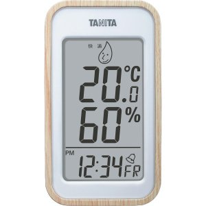 【納期目安:1週間】4904785557215 タニタ デジタル温湿度計 ナチュラル (包装・のし可)|dentarou