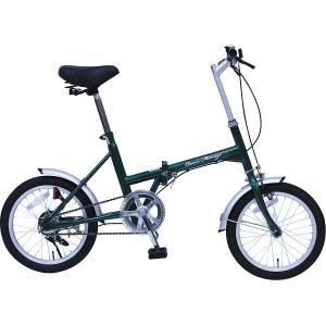 【納期目安:05/末入荷予定】MG-CM16G クラシックミムゴ16型折りたたみ自転車 (MGCM16G) dentarou