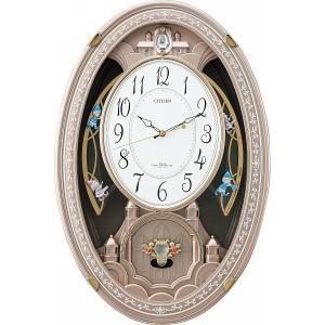 【納期目安:1週間】4903456174683 シチズン メロディ電波掛時計(30曲入)(包装・のし可)|dentarou