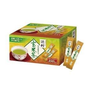 ds-1100398 辻利 インスタント茶 玄米茶 1箱(100袋) (ds1100398)|dentarou