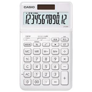 <title>ds-2181237 まとめ 今だけスーパーセール限定 カシオ計算機 デザイン電卓 ホワイト JF-S200-WE-N ×5セット ds2181237</title>