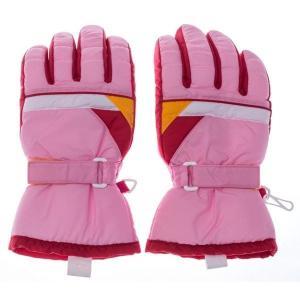 EGAL SP-062-PKJS 【ジュニア】 スキー5指手袋 #SP-062 ピンク サイズJS (ピンクサイズJS) (SP062PKJS) dentarou