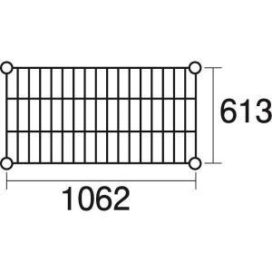 <title>特価品コーナー☆ KND-137051 ステンレスエレクター 棚 SLS1070 KND137051</title>