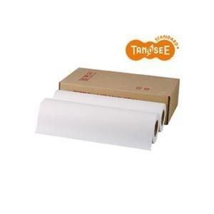 ds-2216205 セール 特集 まとめ TANOSEE PPC LEDプロッタ用普通紙ロール A3 4本 1箱 テープ止め ds2216205 297mm×150m ×3セット Seasonal Wrap入荷
