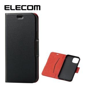 エレコム PM-A19BPLFUBK 【メール便での発送商品】iPhone11Pro ケース カバー 手帳 フラップ (PMA19BPLFUBK)|dentarou