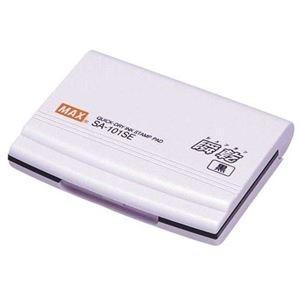 ds-2241078 まとめ お求めやすく価格改定 マックス 瞬乾スタンプ台 小形 上質 SA-101SE ×30セット 黒 ds2241078 1個