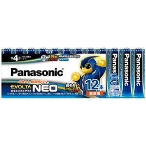 <title>ds-2225182 まとめ パナソニック アルカリ乾電池EVOLTAネオ 単4形 LR03NJ 12SW 1パック 12本 ×10セット SEAL限定商品 ds2225182</title>