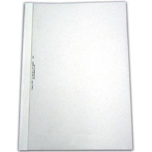 ds-2228619 ジャパンインターナショナルコマースとじ太くん専用カバー A4タテ 背幅6mm クリア 1パック 4110003 ブランド品 低価格 ホワイト 10枚 ×10セット