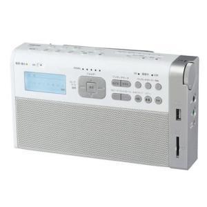 【納期目安:1週間】東芝 TY-RHR1W-W TY-RHR1(W) 録音ラジオ タイマー機能 SDカード対応 USBメモリー対応 (TYRHR1WW)|dentarou