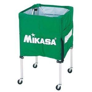 <title>ds-2262574 MIKASA ミカサ 器具 ボールカゴ 箱型 小 フレーム 幕体 キャリーケース3点セット ライトグリーン BCSPSS ds2262574 返品交換不可</title>