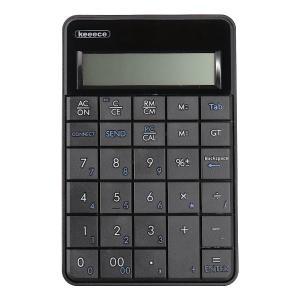 スリーアールソリューション 3R-KCWNK01 ワイヤレス電卓機能付きテンキー (ブラック) (3RKCWNK01)|dentarou