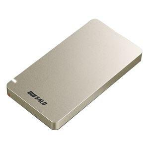 <title>ds-2269680 バッファロー 今だけ限定15%OFFクーポン発行中 USB3.1 Gen2 ポータブルSSD 960GB ゴールド ds2269680</title>